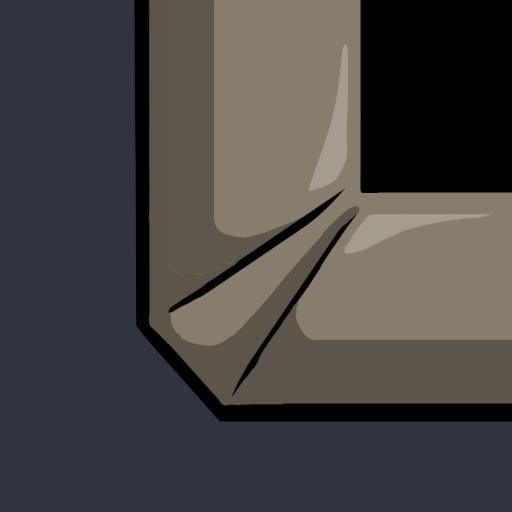 bottom corner