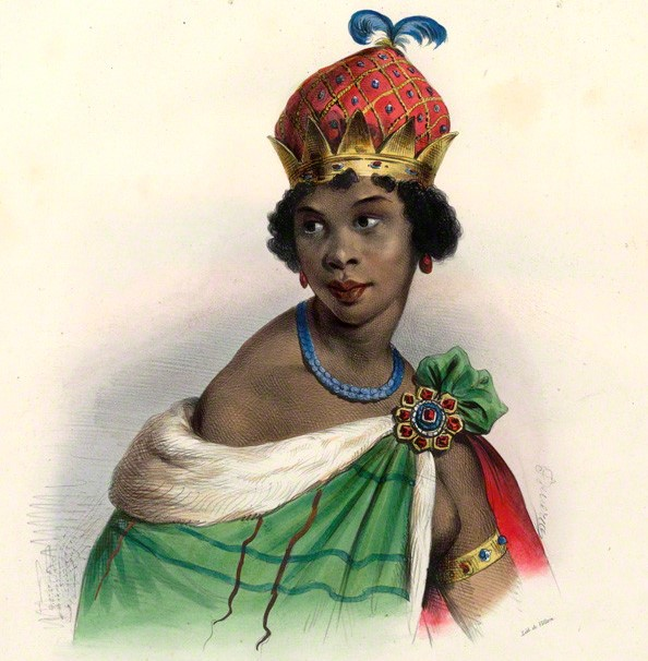 The queen of the Matamba and Ndongo Kingdoms