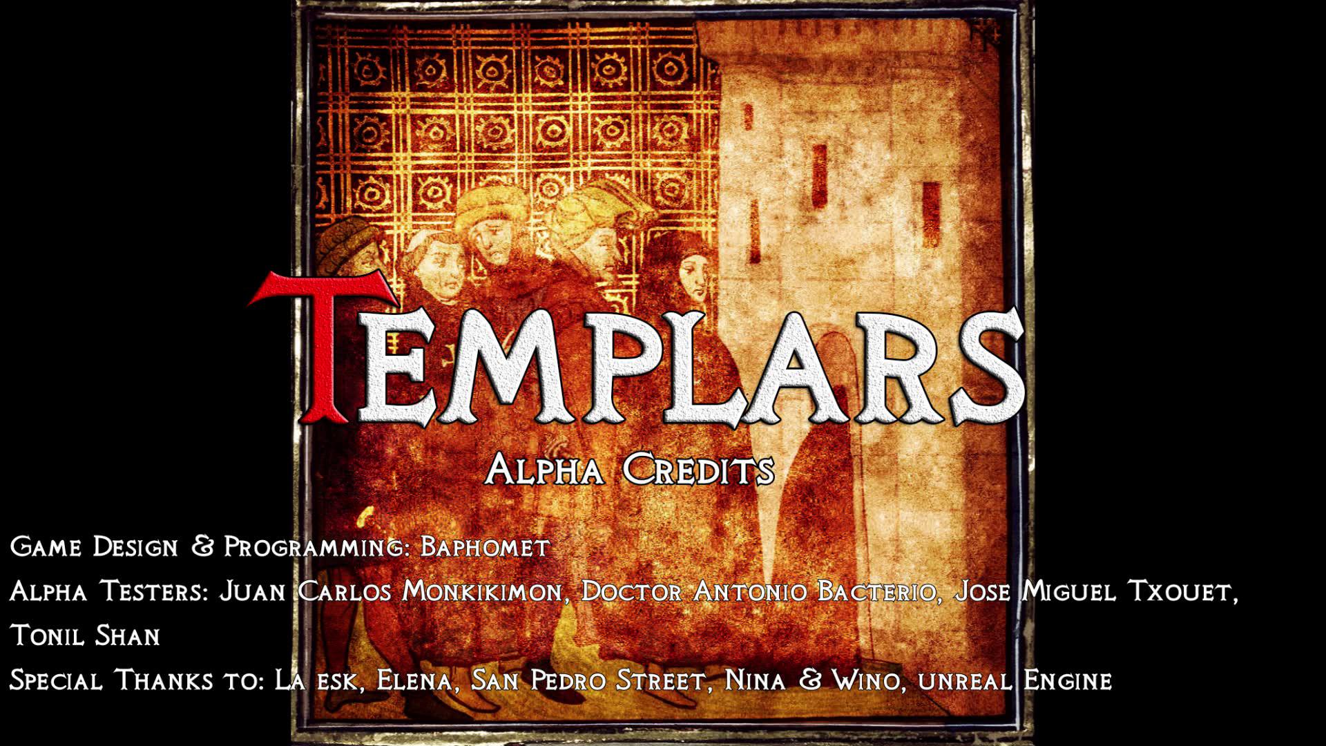 Templars Alpha Credits