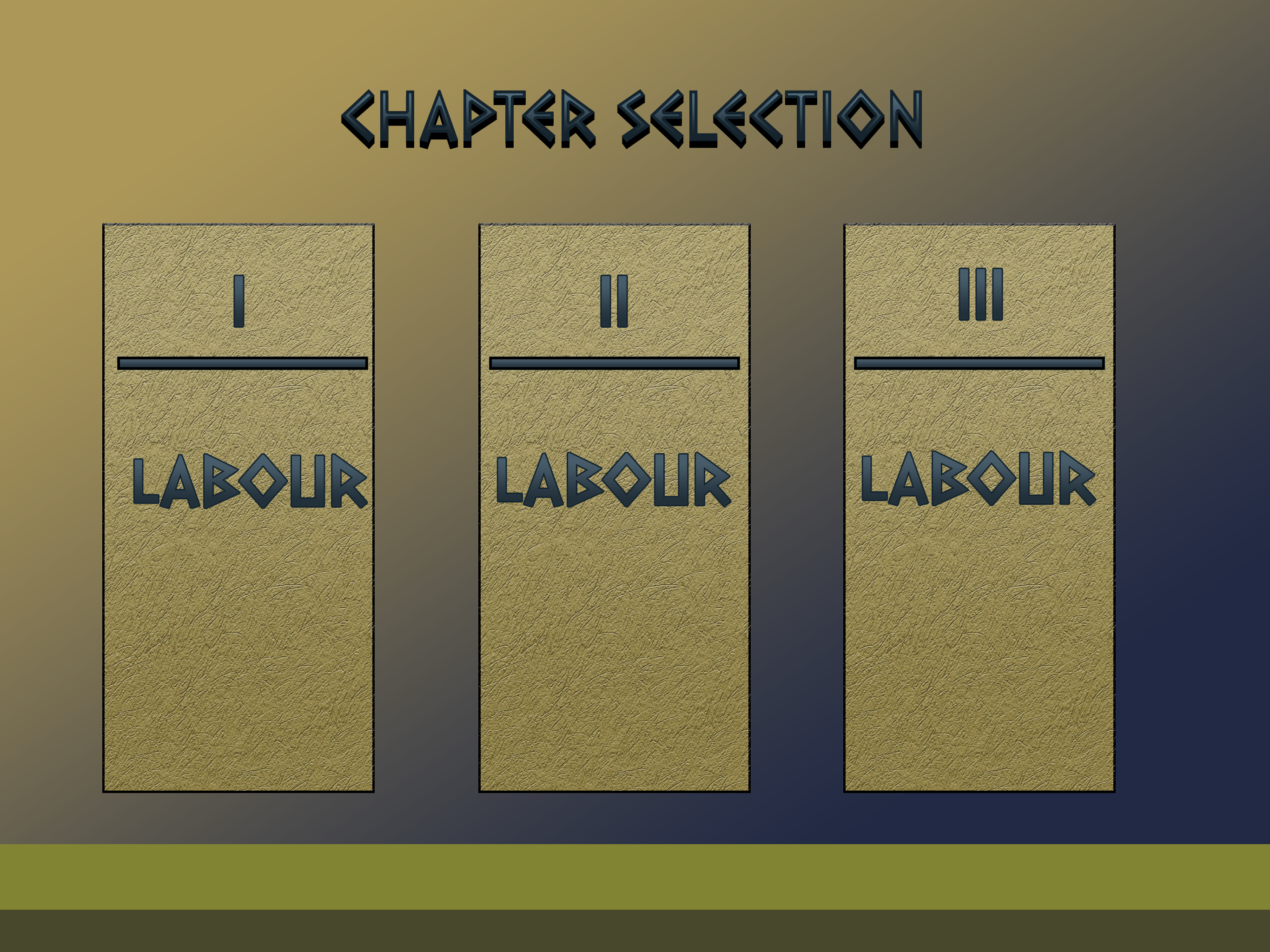 Chapter Selection