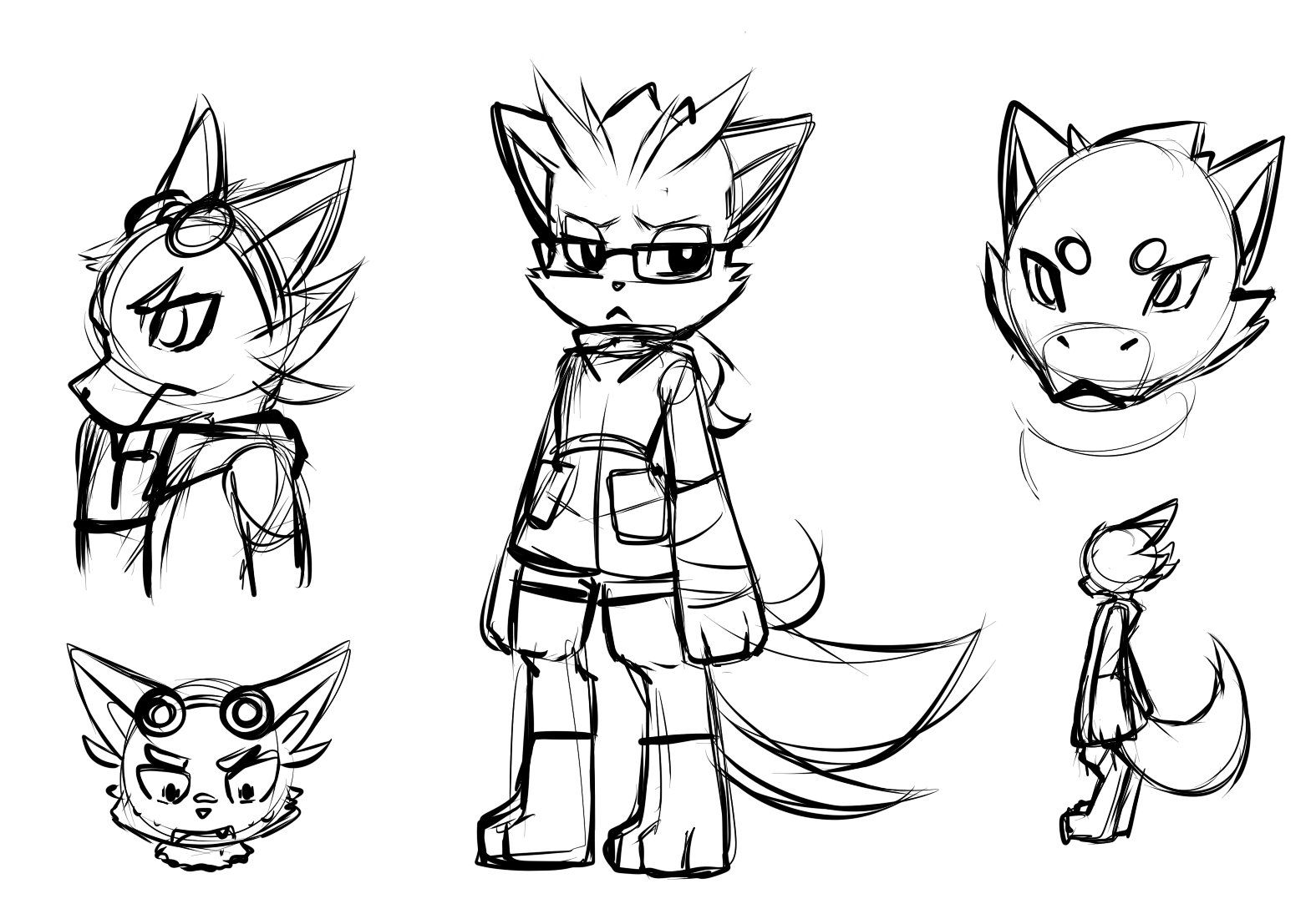 noddle sketches