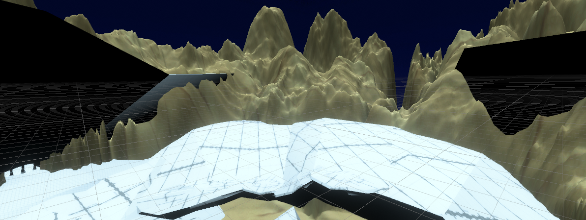 Unity Terrain Screenshot