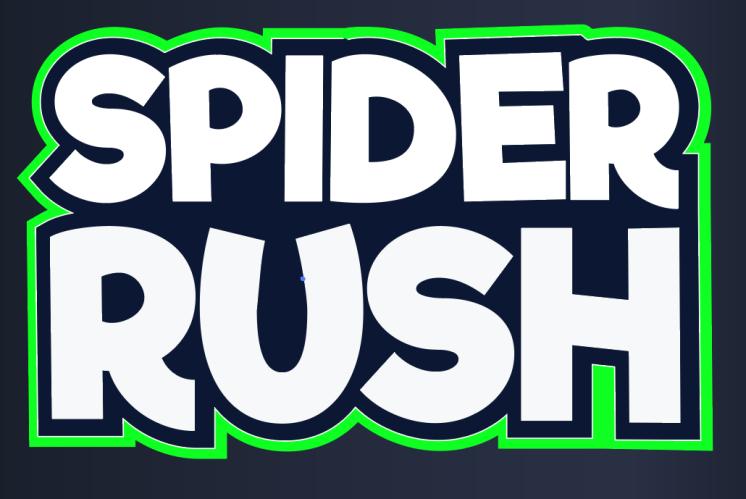 spider rush logo