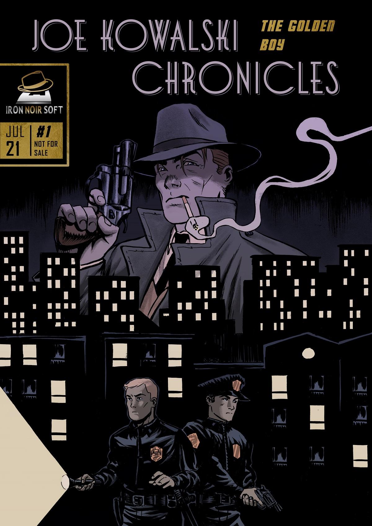 Joe Kowalski Chronicles: The golden boy