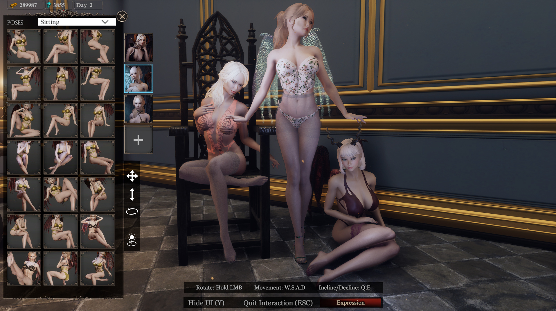 she will punish them new poses 2