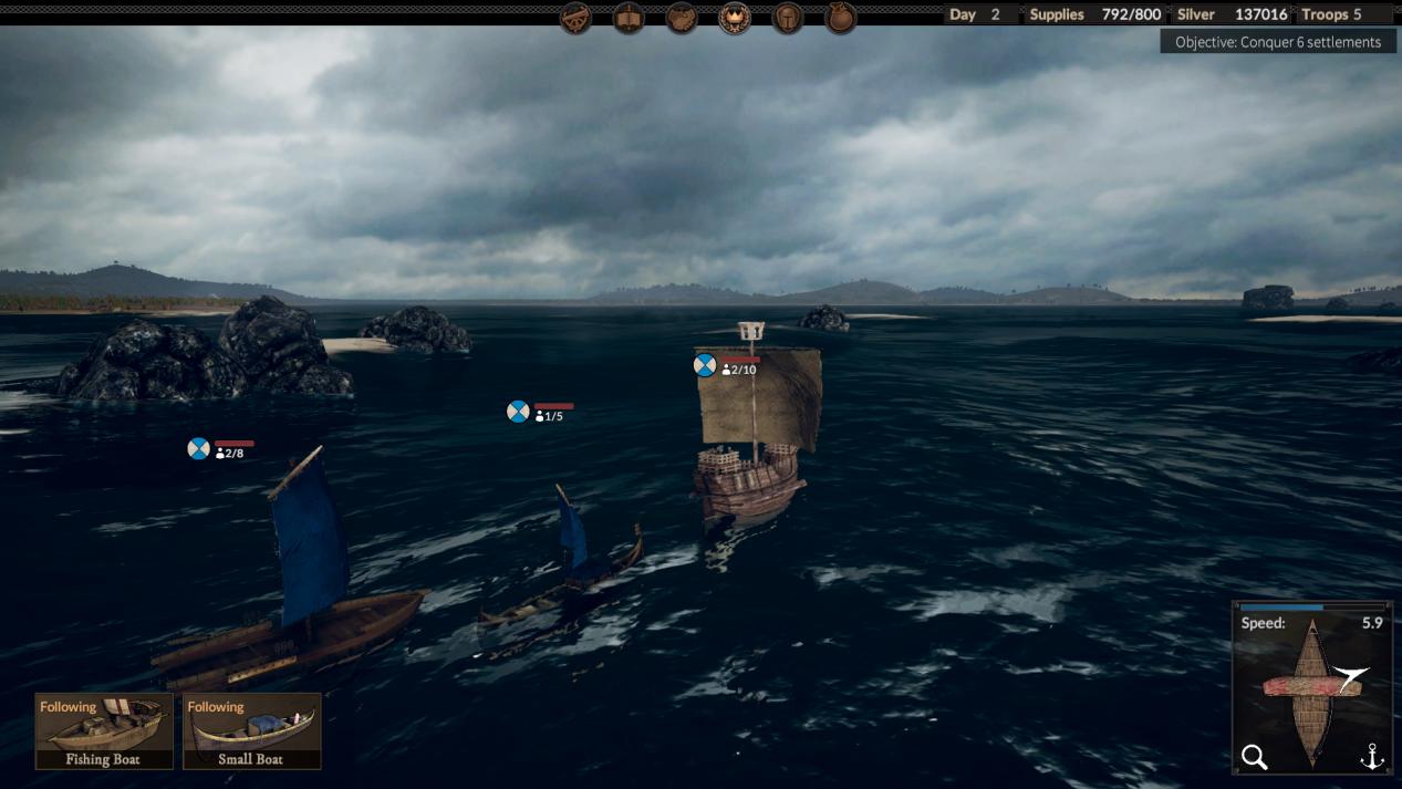 the viking way sailing