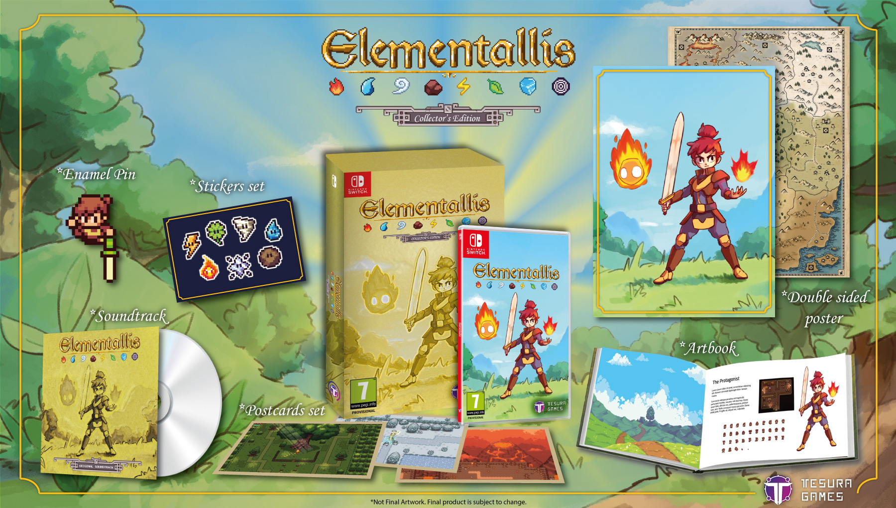 Elementallis Collector's Edition
