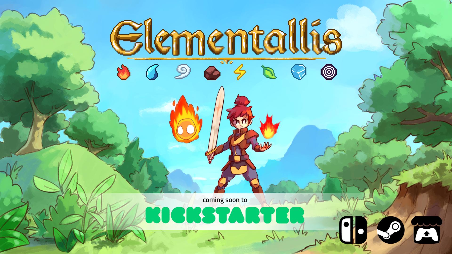 Kickstarter cover Elementallis