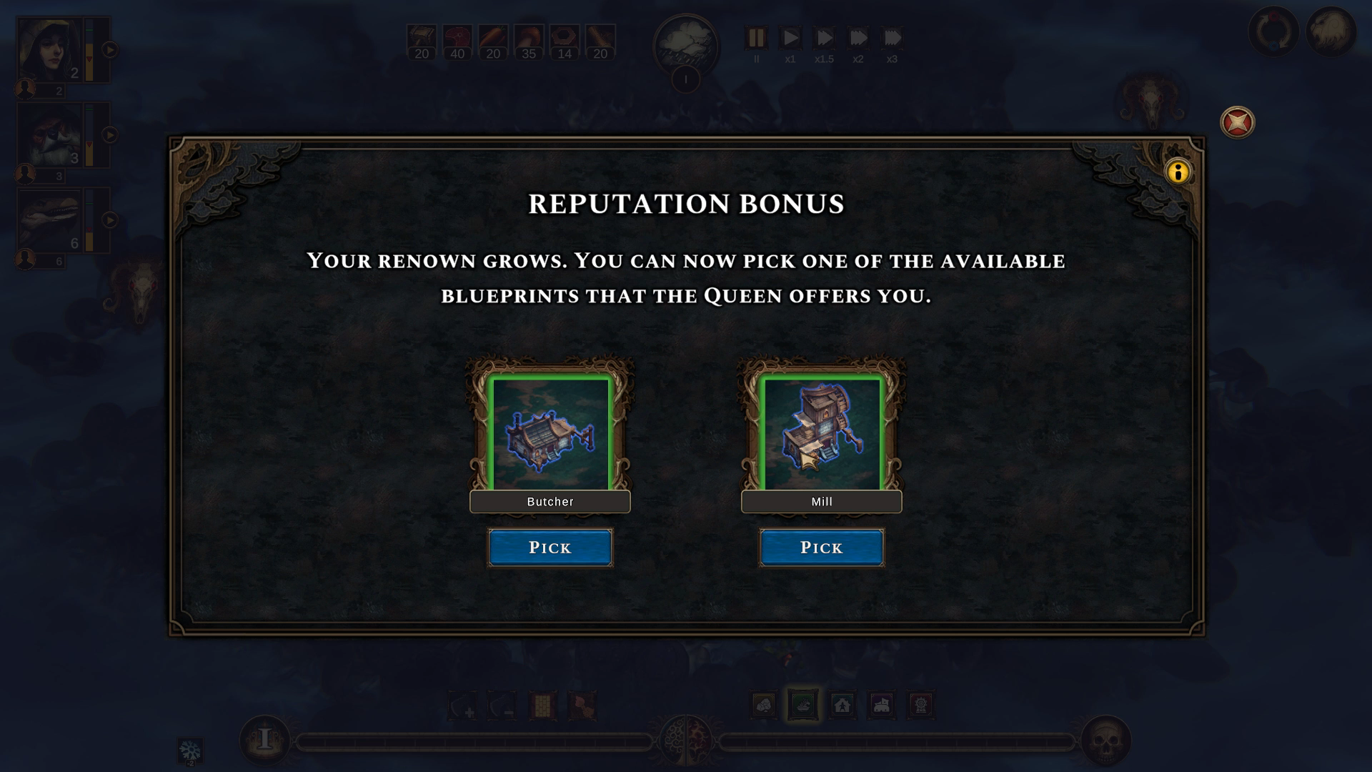 Reputation Bonus