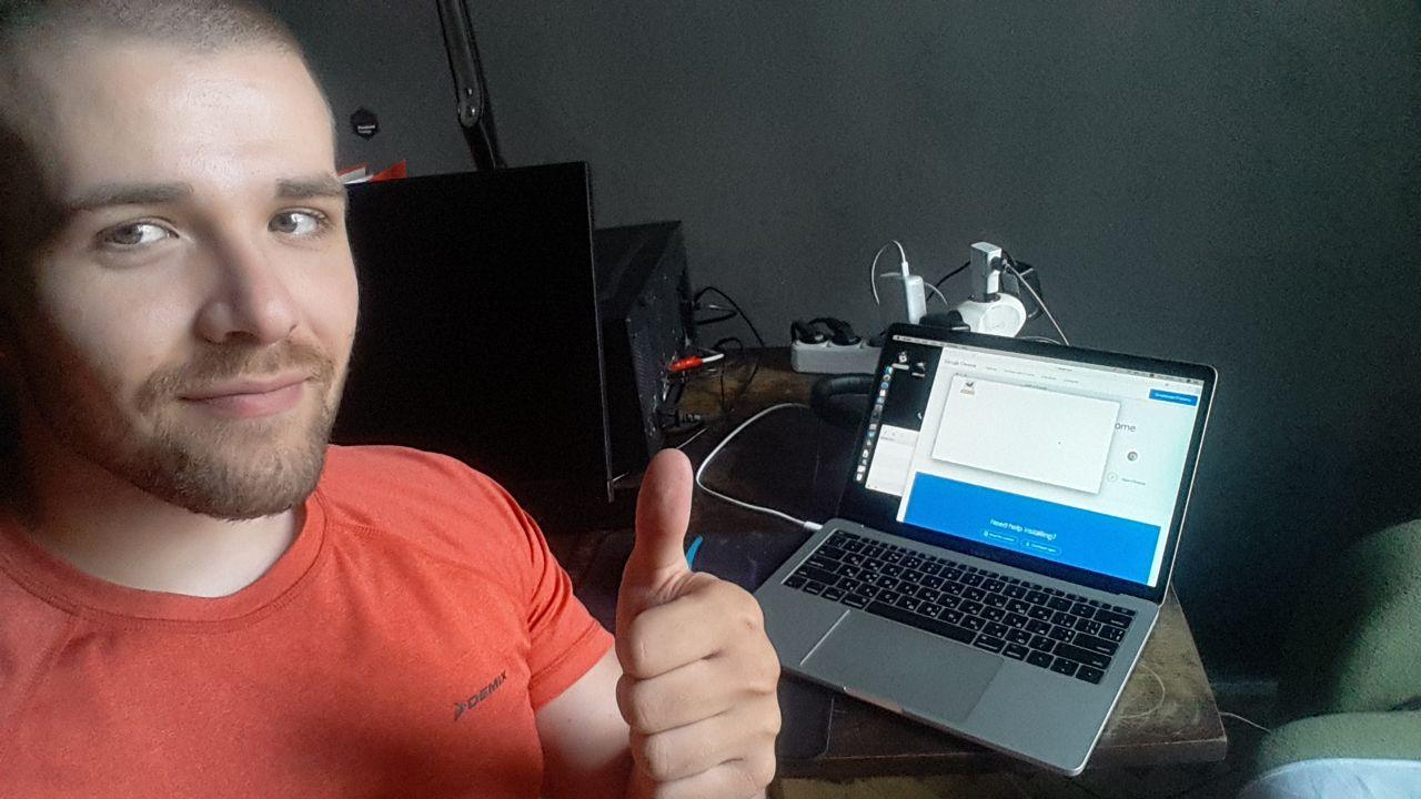 Developer with purchased Mac xD