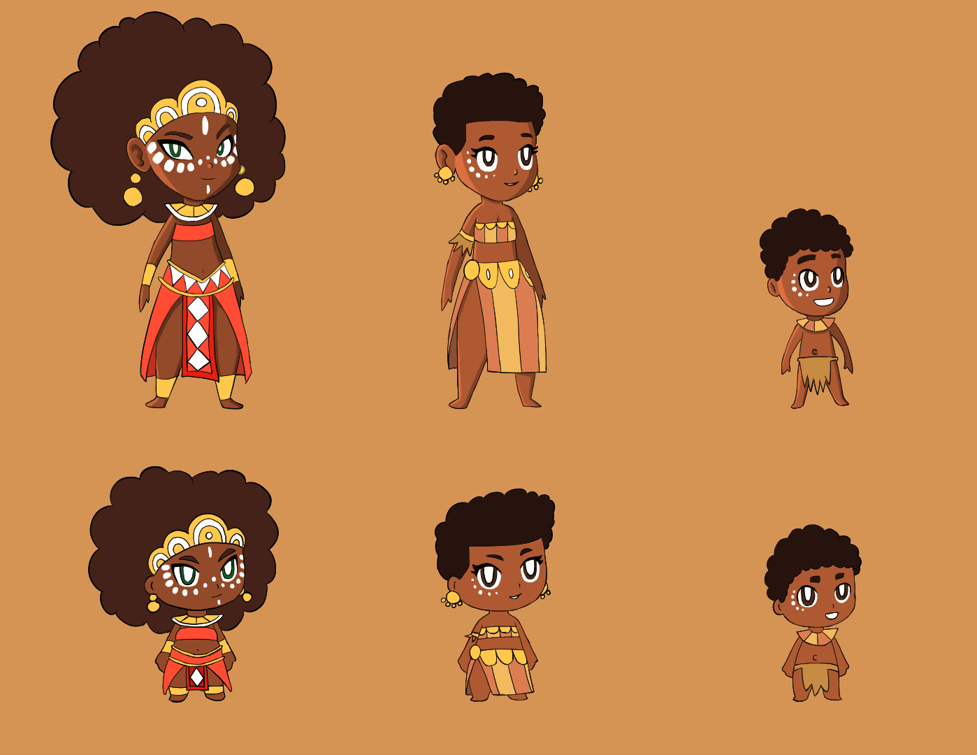African Characters