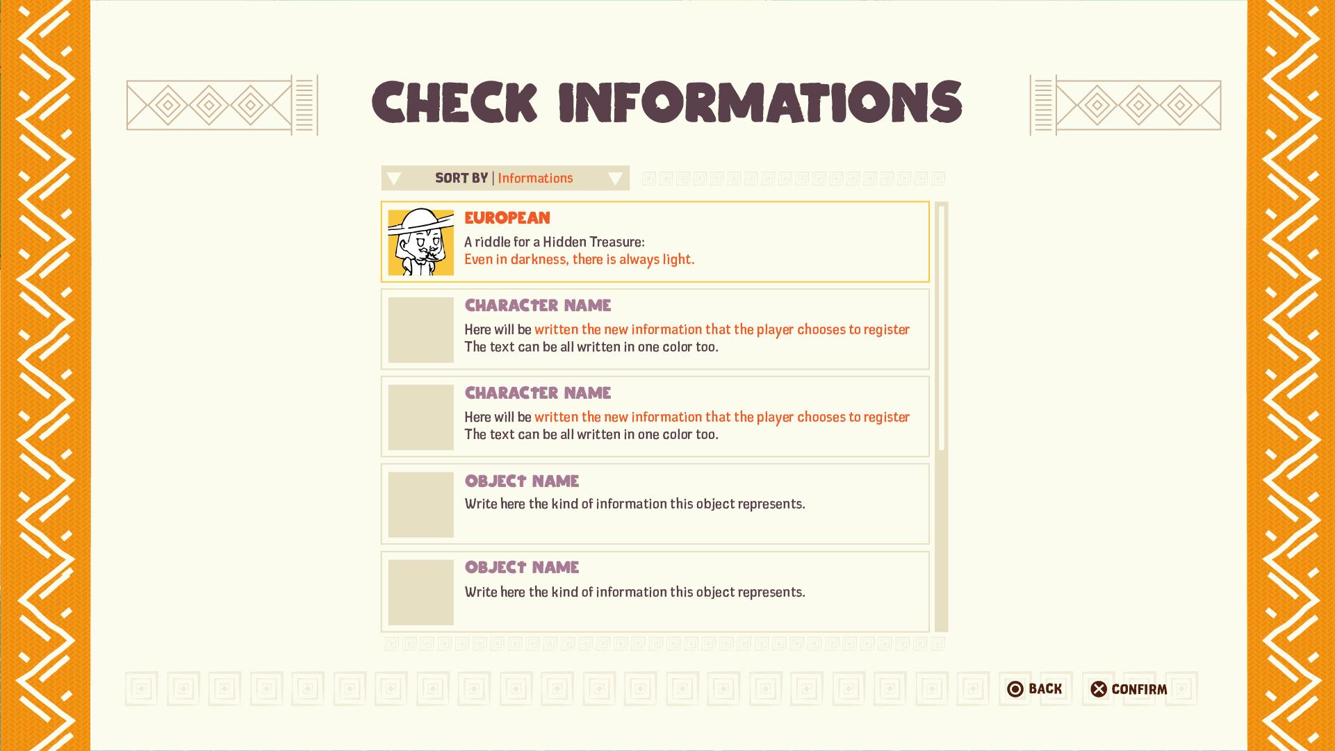 Njinga UI Check Info