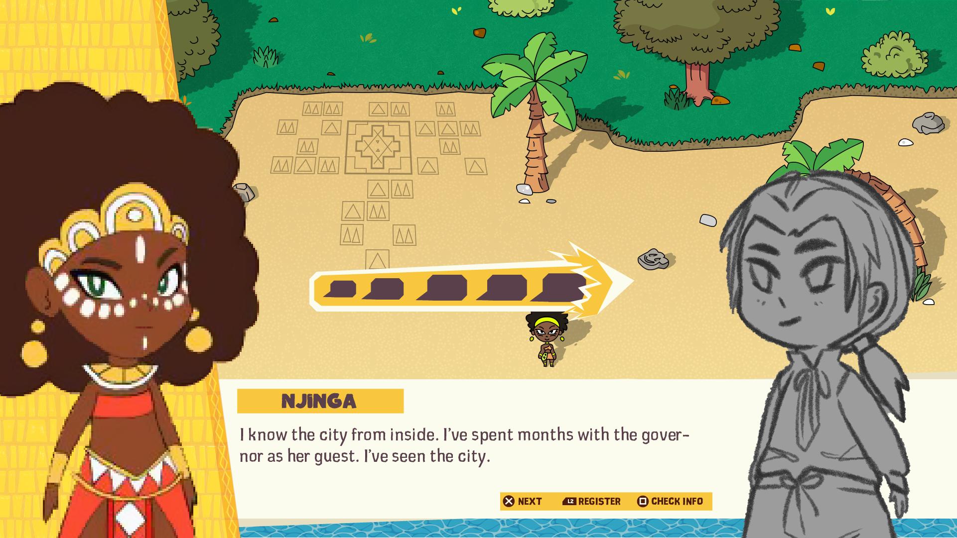 Njinga UI Fight with words