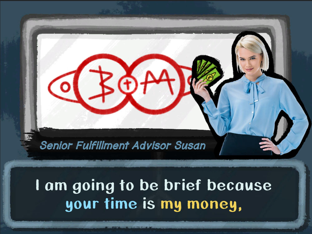 Your time is my money
