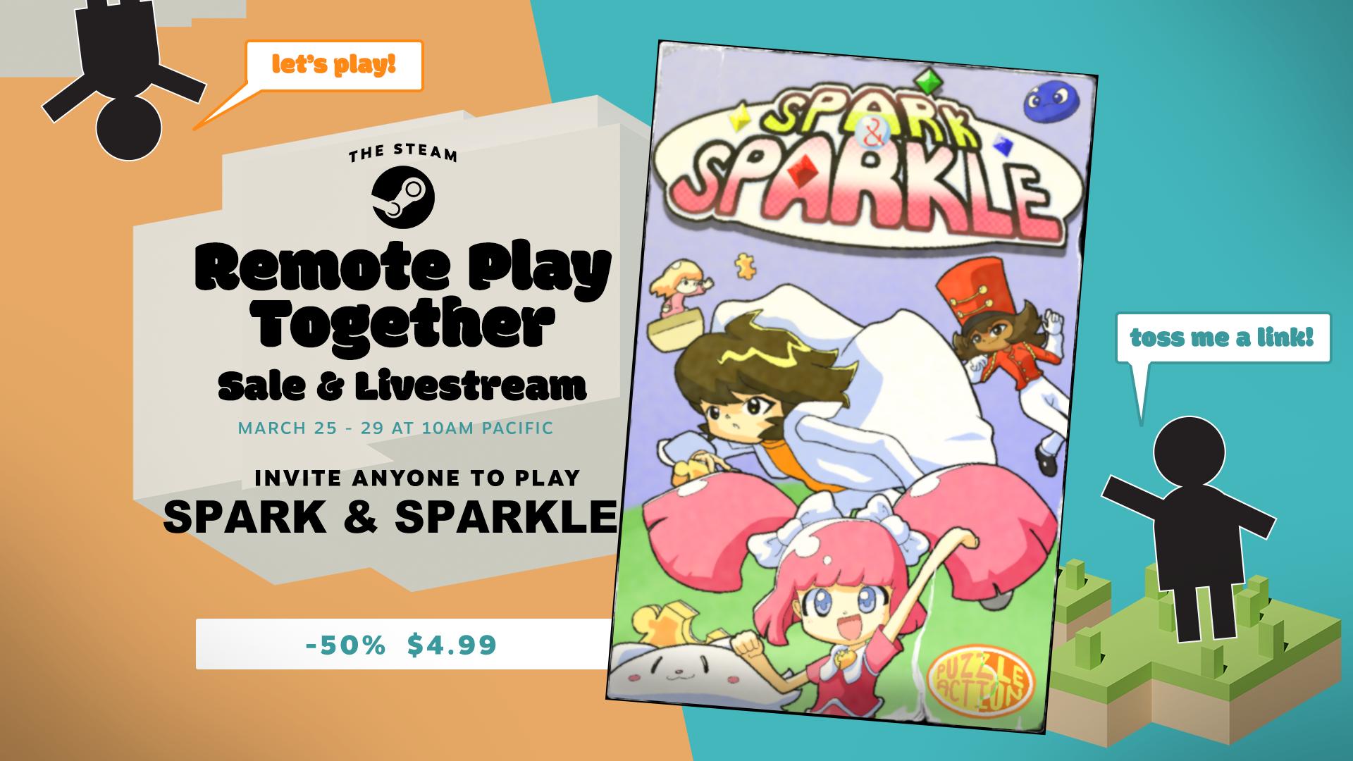 Spark & Sparkle on Steam