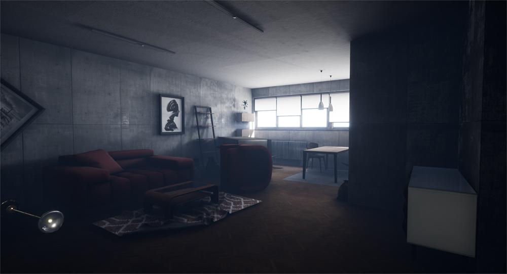Apartment 3 - studio interior