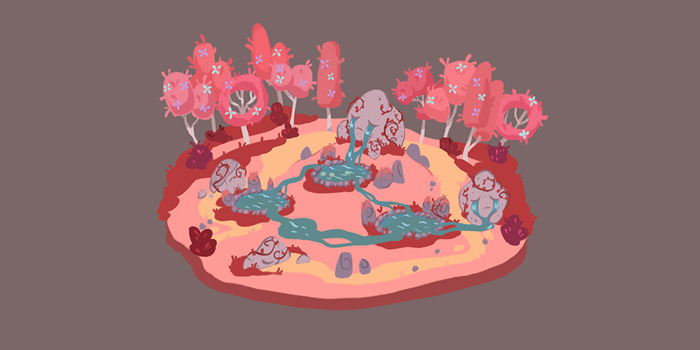 Time to Morp - Pink biome