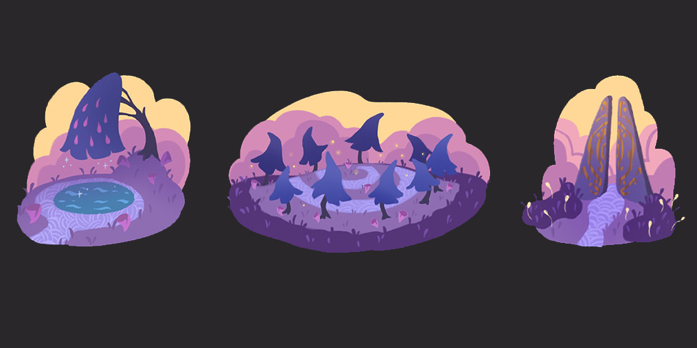 Time to Morp - Purple biome