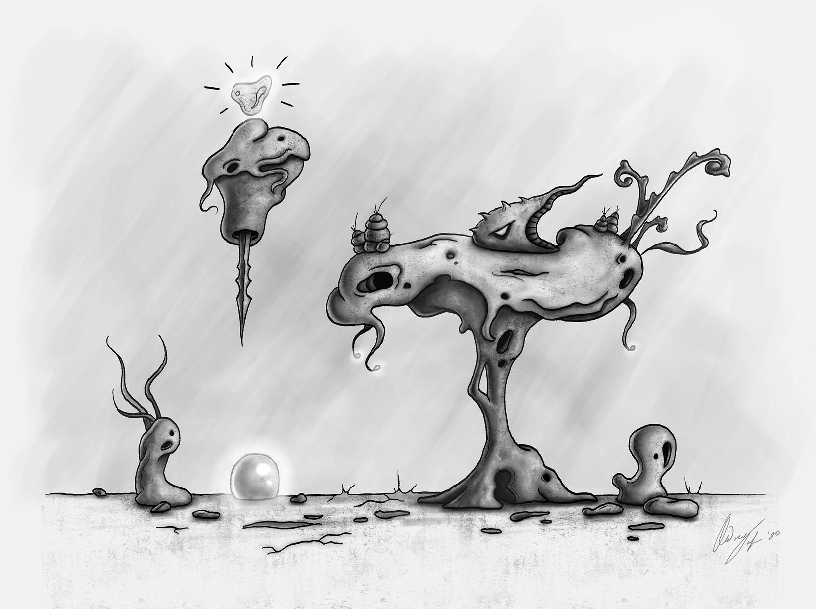 henosis concept sketch
