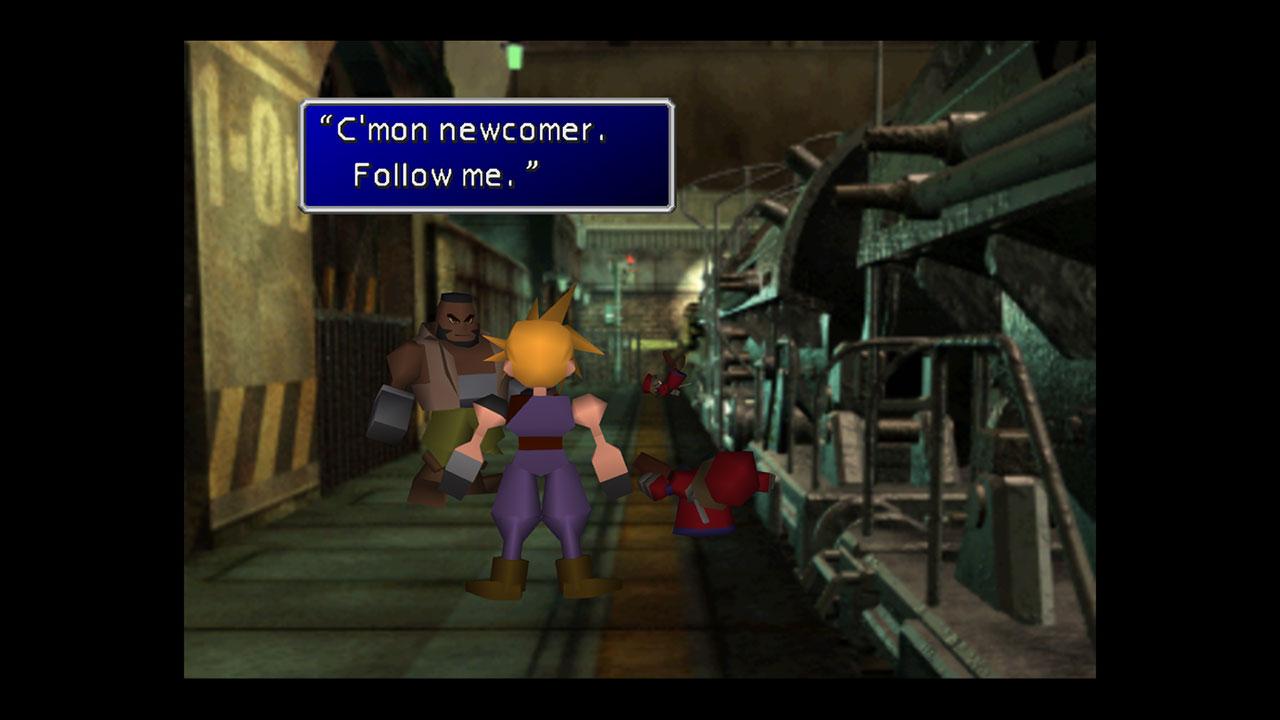 Final Fantasy VII Textbox