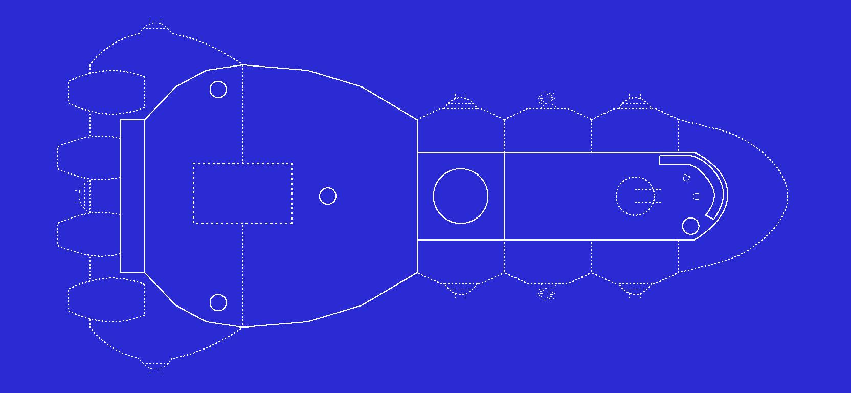 Spaceship blueprint L1