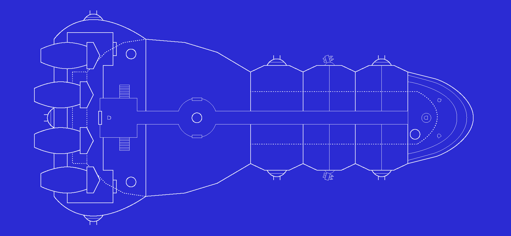 Spaceship blueprint