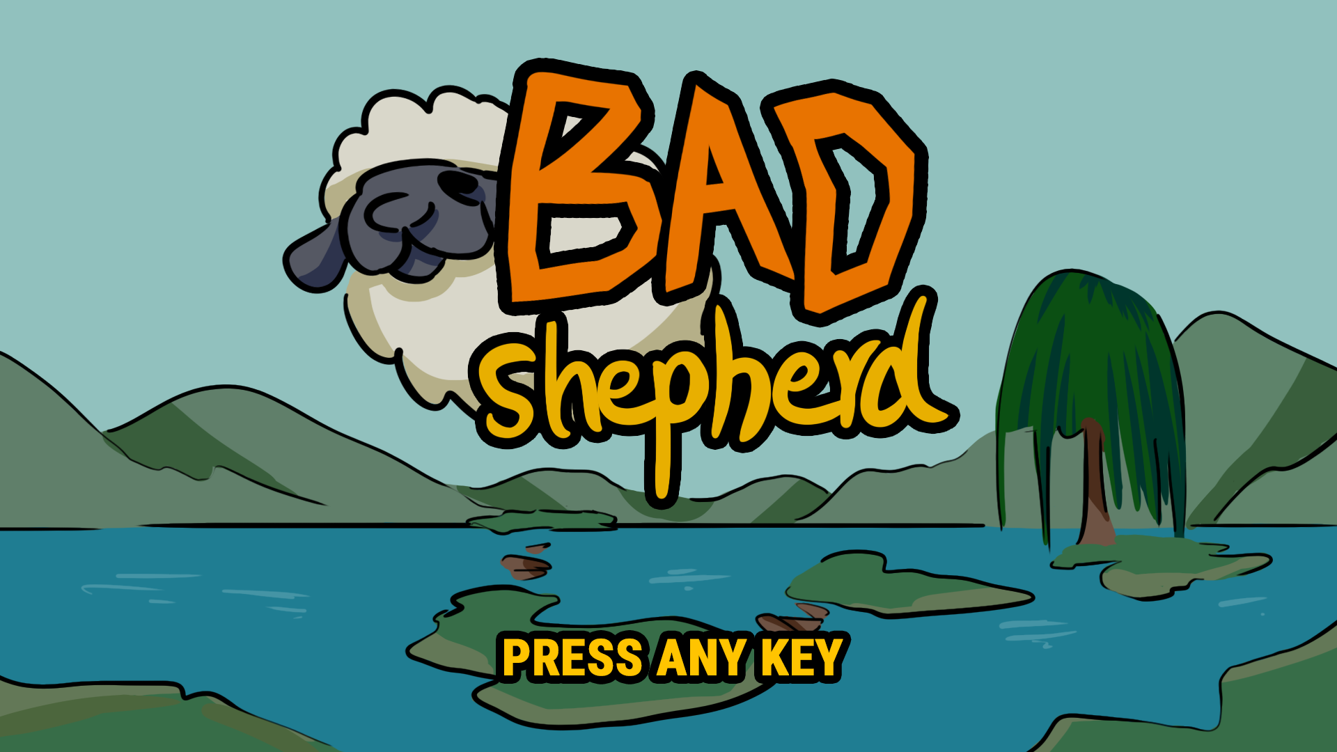 bad shepherd title screen