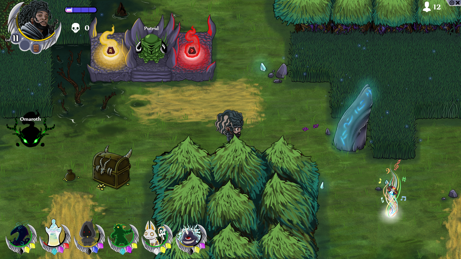 MAP FOREST HERO Envent03