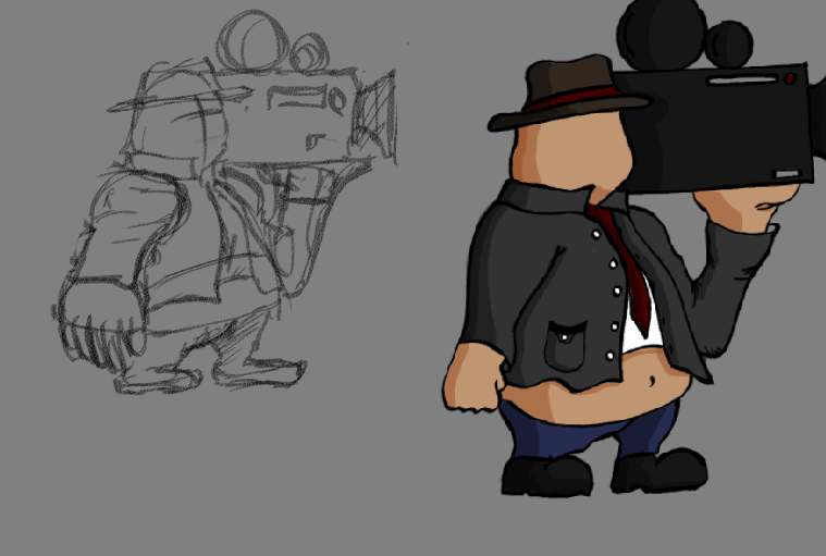 First Sketch of a Possible Main Character