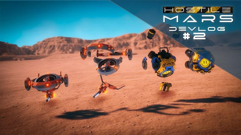 Hostile Mars DevLog 02 Cover min