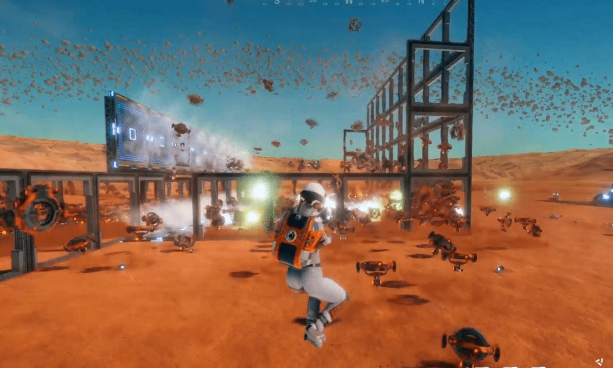 Hostile Mars Bomb Trap Container