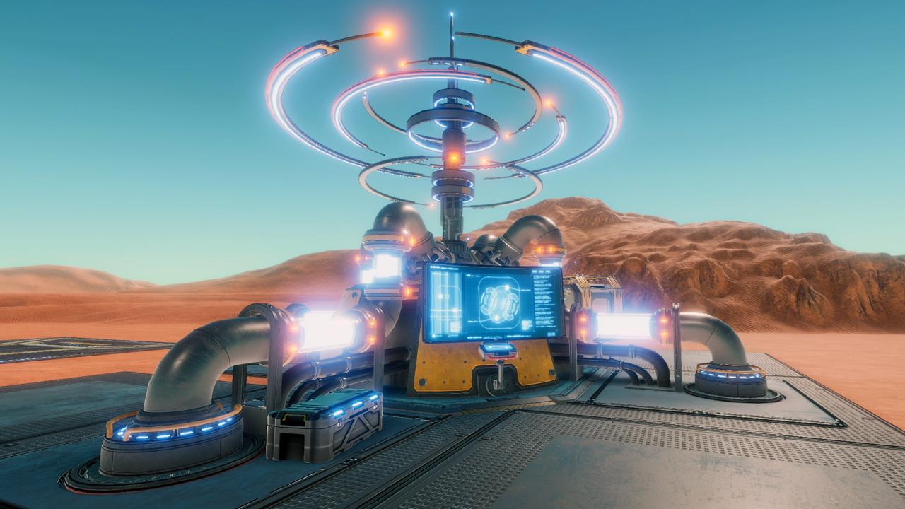 Hostile Mars Command Center