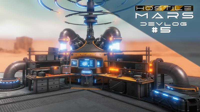 Hostile Mars DevLog 05 Cover