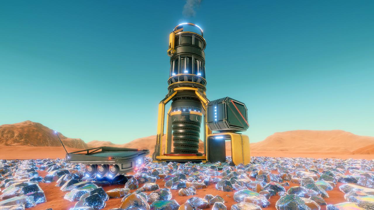Hostile Mars Drill