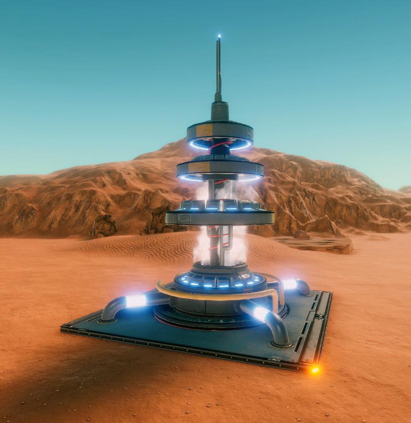 Hostile Mars Power Distributor