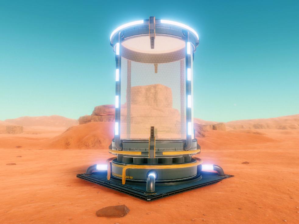 Hostile Mars Storage Tank