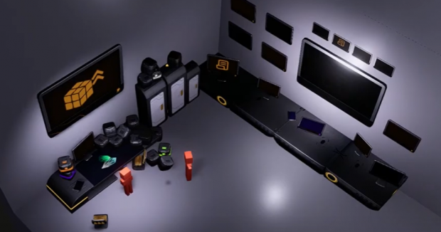Camera angle example in our game