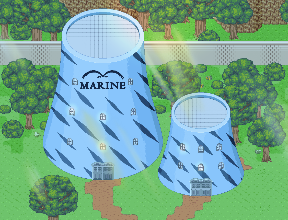 Pirate Soul - One Piece based RPG - Marines' Base Towers