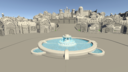 3D art city