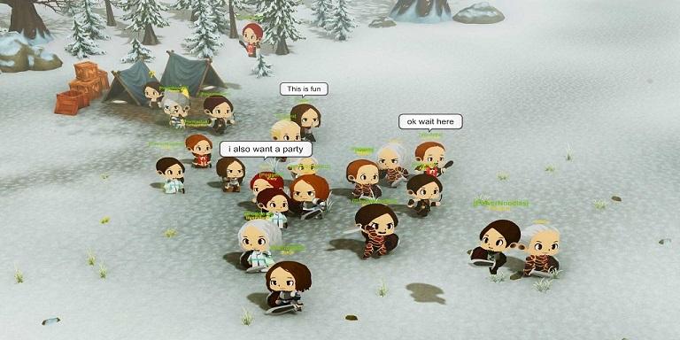 Snow Mountain Party