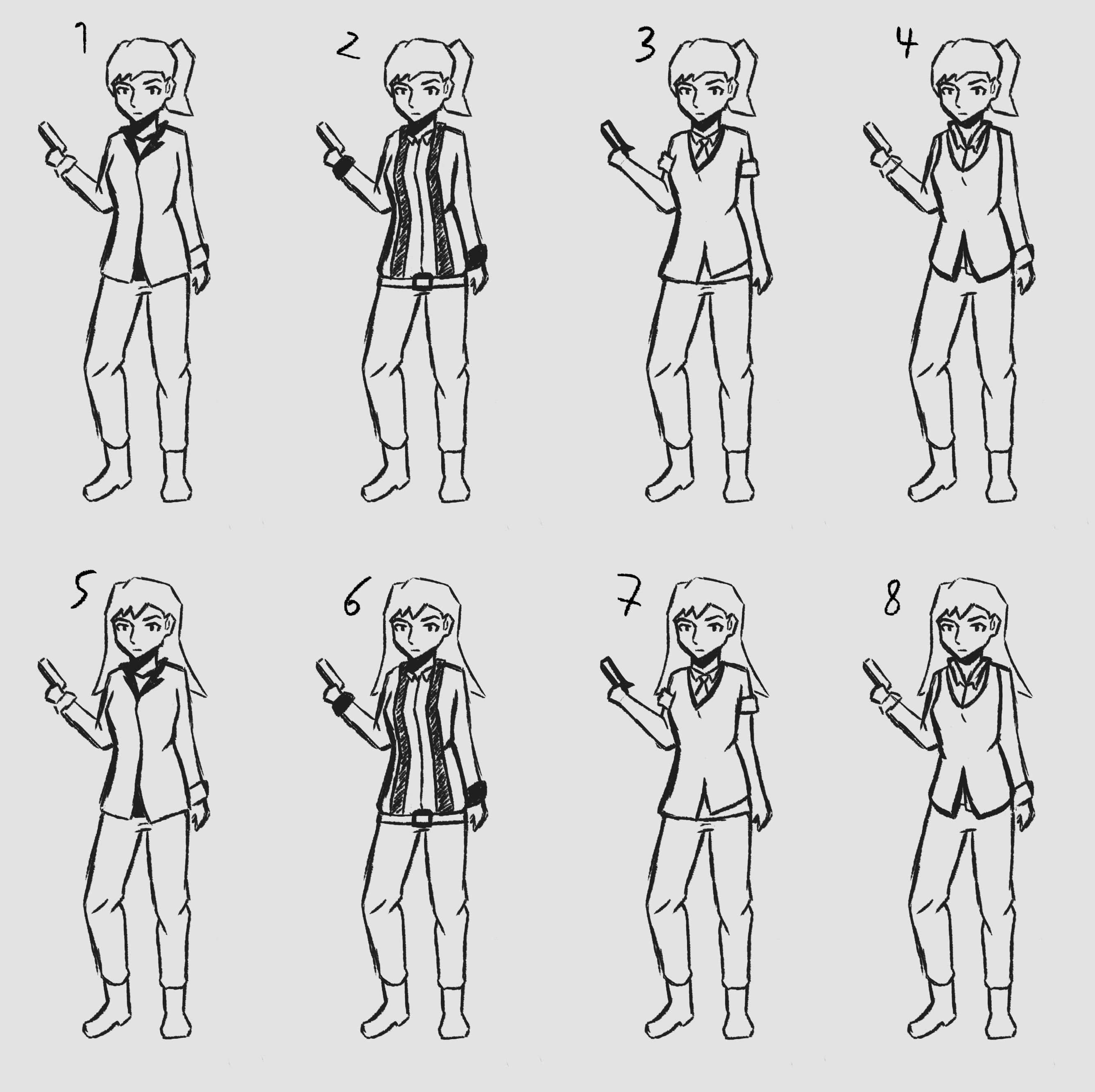 Main Character Concept Mafia women