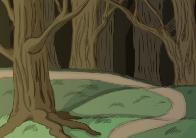 First background sketch concept