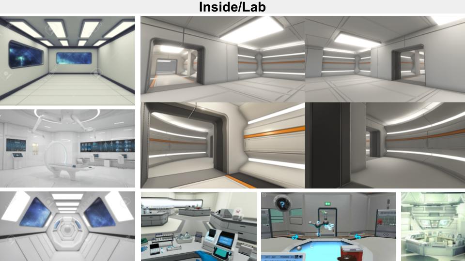 Laboratory Moodboard