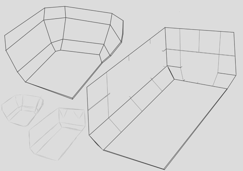 Inital Sketch of Lab