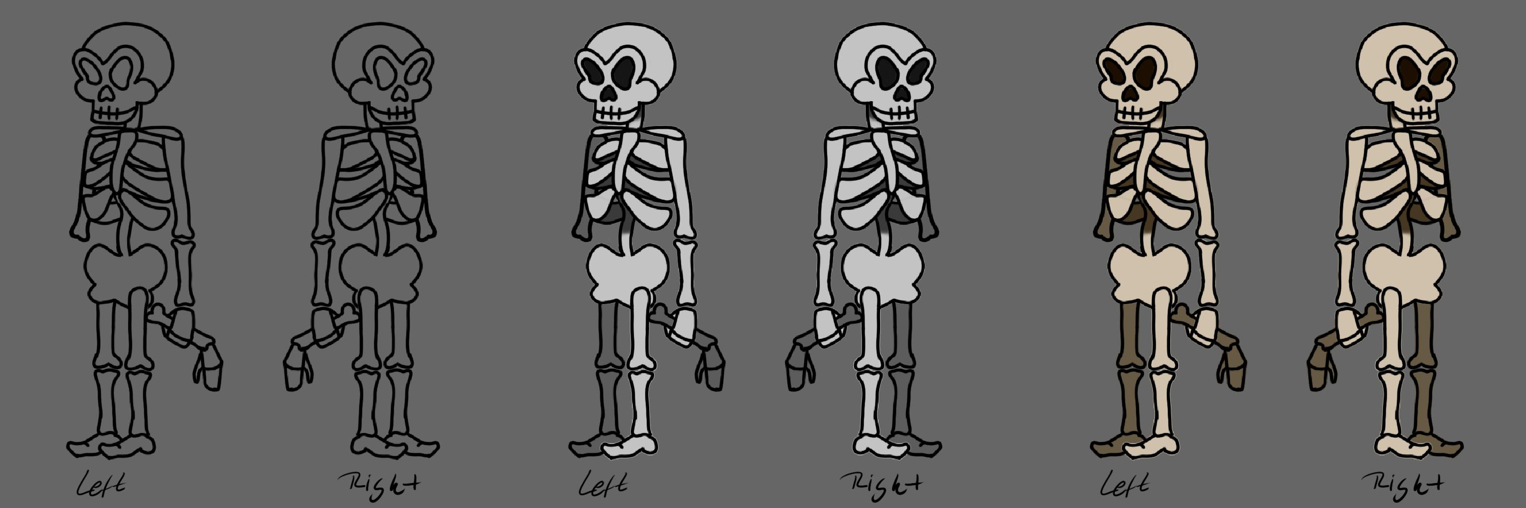 TurnArrond Skeleton