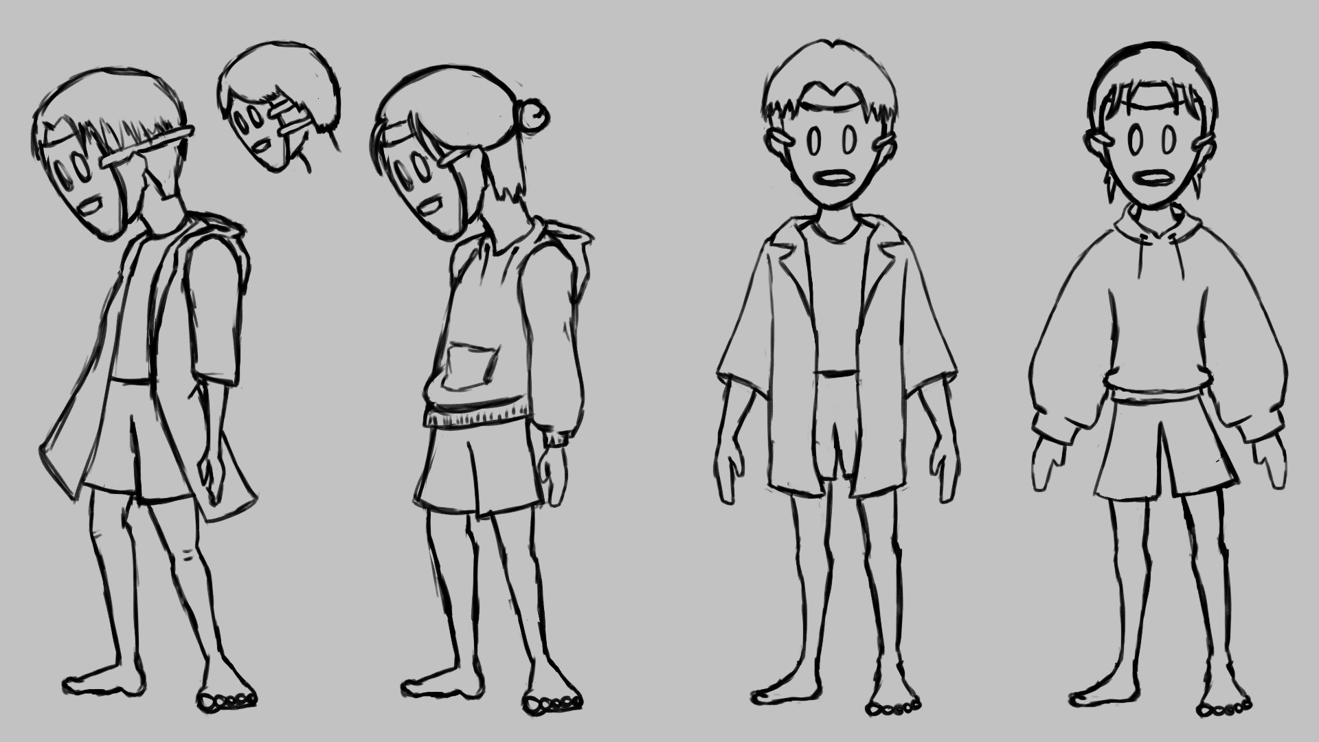 04 Character Sketches NoShoes