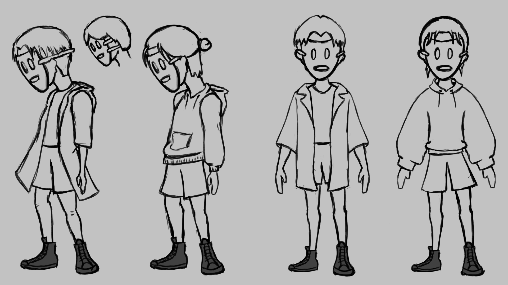 05 Character Sketches Shoes