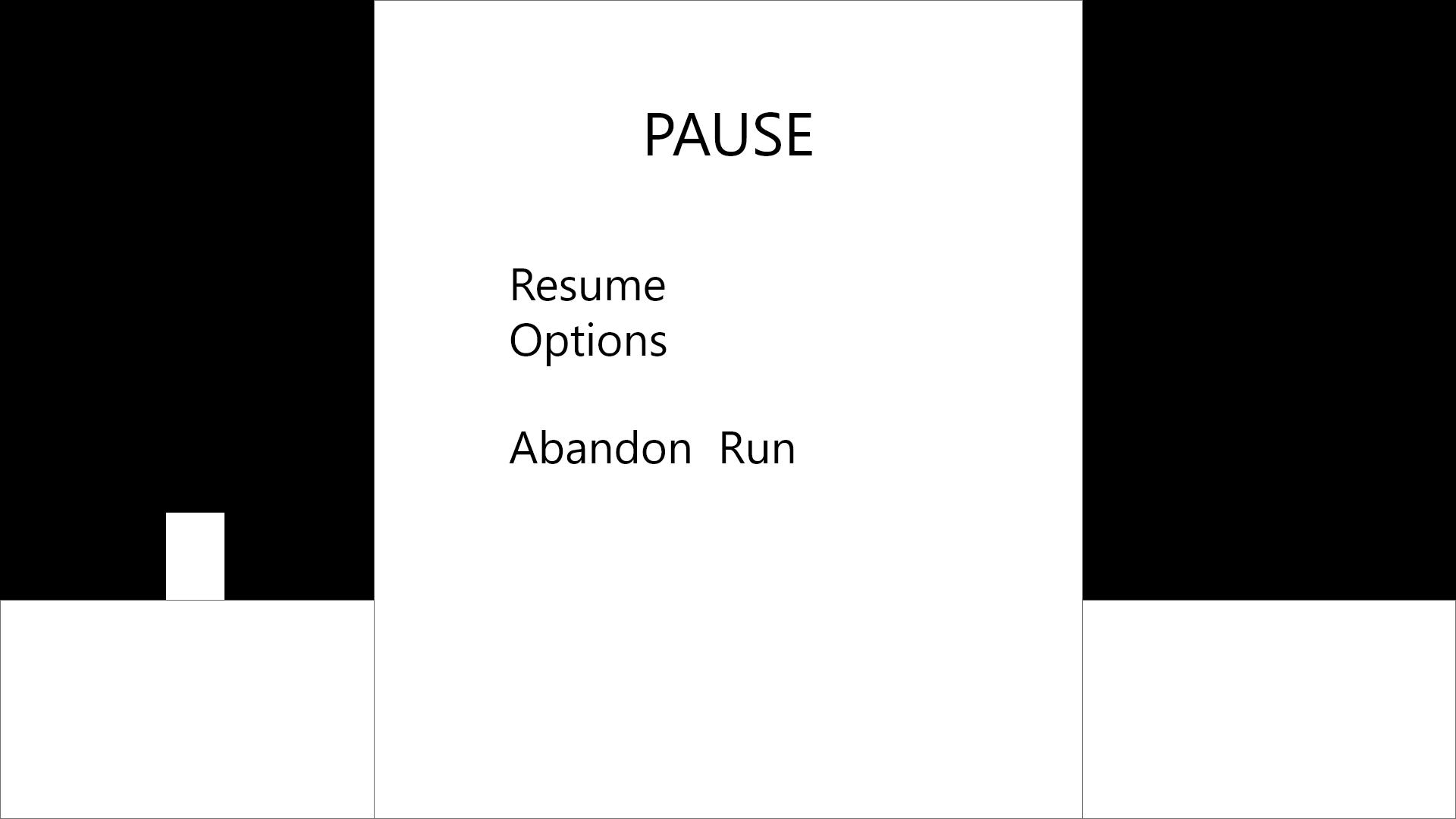 9   Pause Menu