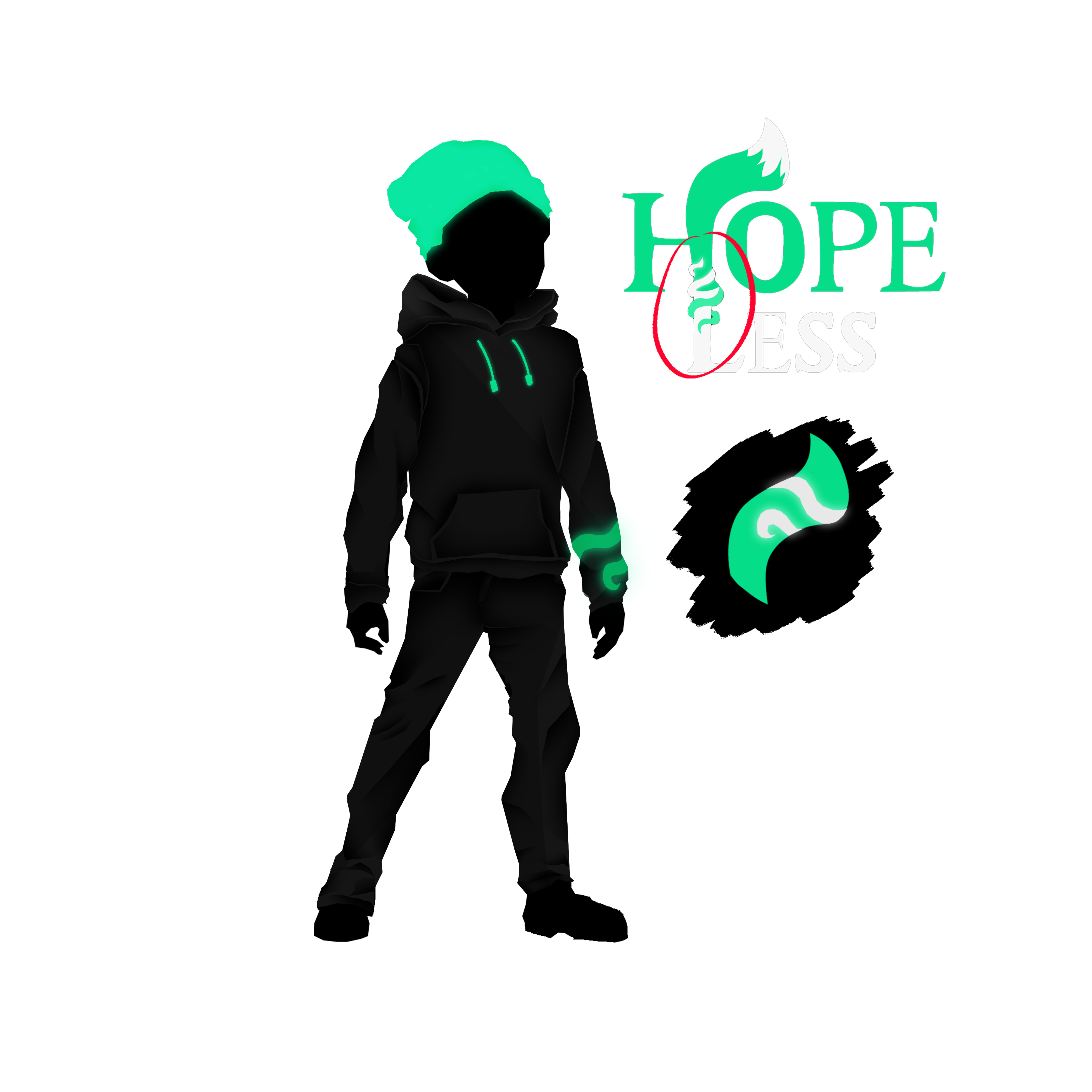 Character Design Hoodie Maior