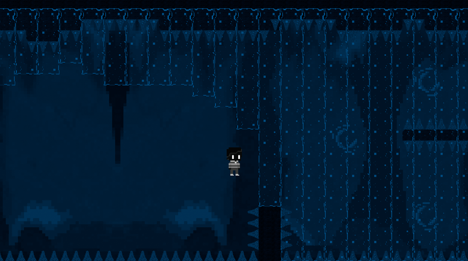 Showcase of water/ice walls